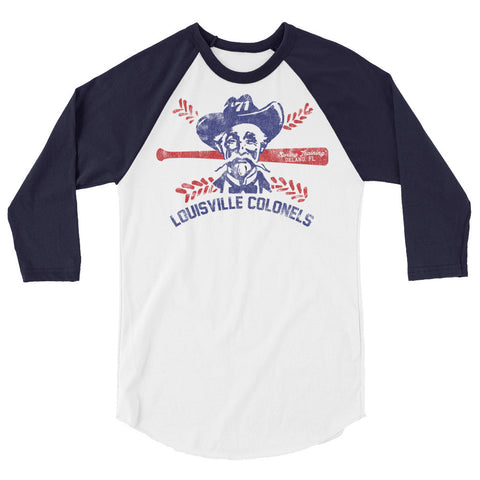 LOUISVILLE COLONELS 1971 SPRING TRAINING 3/4 sleeve raglan shirt