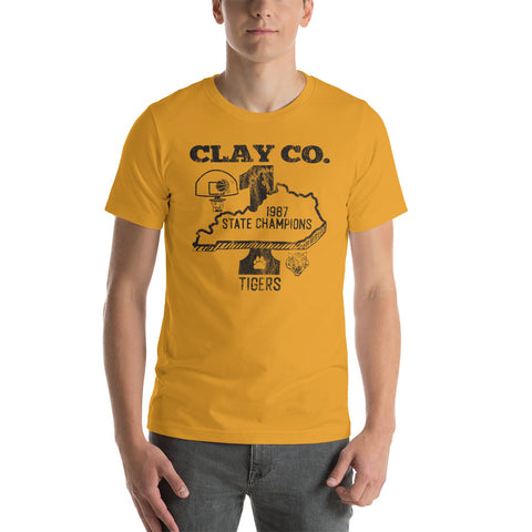 Clay Co. H.S. State Champions 1987 Short-Sleeve Unisex T-Shirt