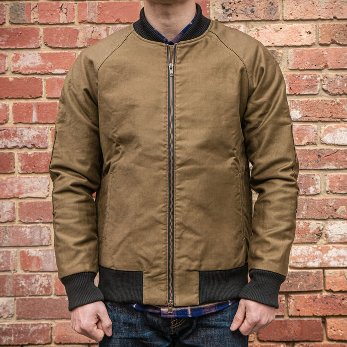 Rogue Territory-RGT- Flight Jacket in Olive