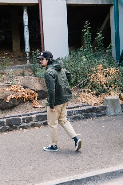 Rogue Territory ss19 classic piece- Waxed Olive Explorer Jacket
