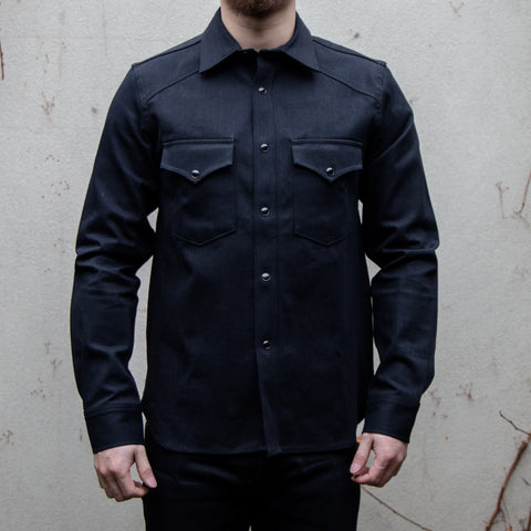 RGT-Western Shirt // Stealth Selvedge Black