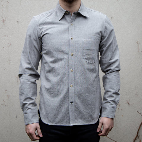 RGT-Traveler Shirt// Grey Chambray