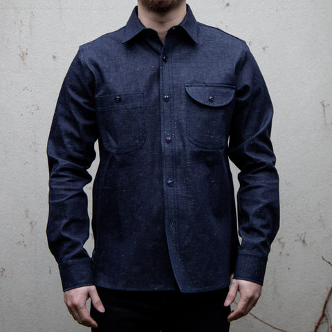 RGT-Work Shirt // Neppy Selvedge Denim