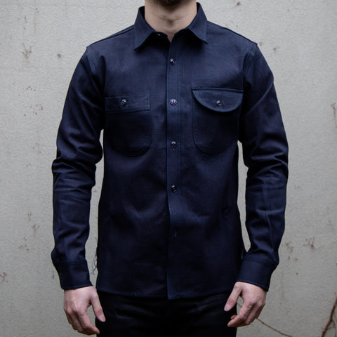 RGT-Work Shirt // Indigo Selvedge Canvas