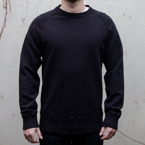 Velva Sheen - 8oz Freedom L/S Sweatshirt in Black