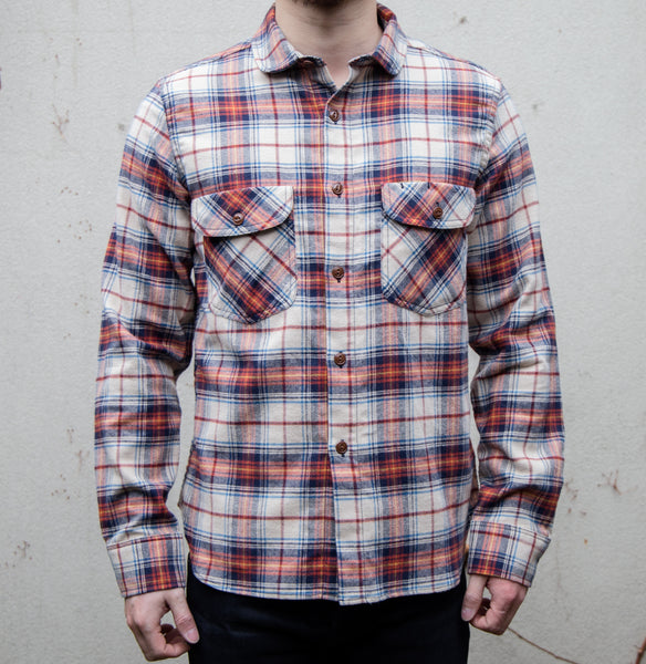 RGT-Rancher Work Shirt// New England Plaid Print