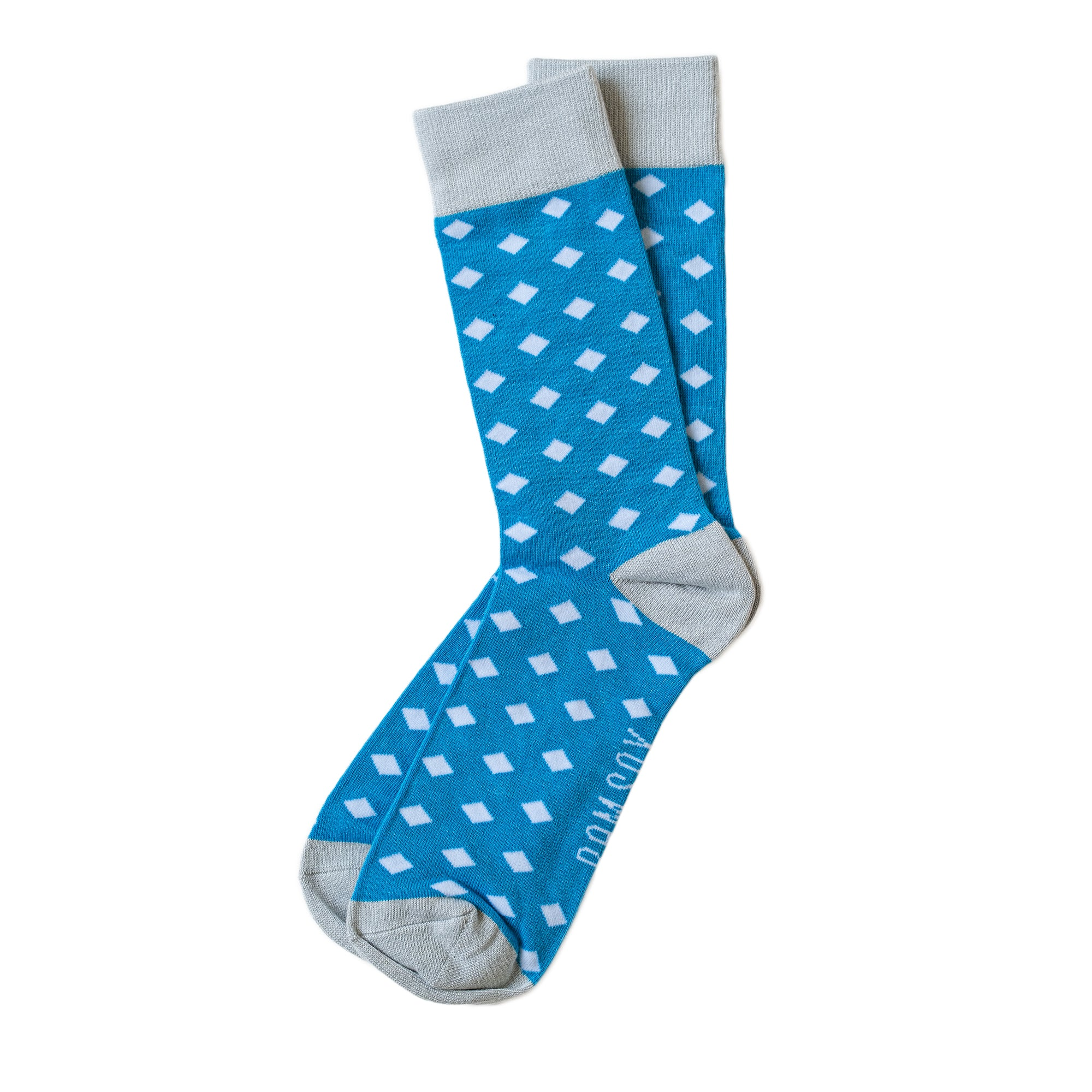 Load image into Gallery viewer, BAM SOX Diamond sock- Blue
