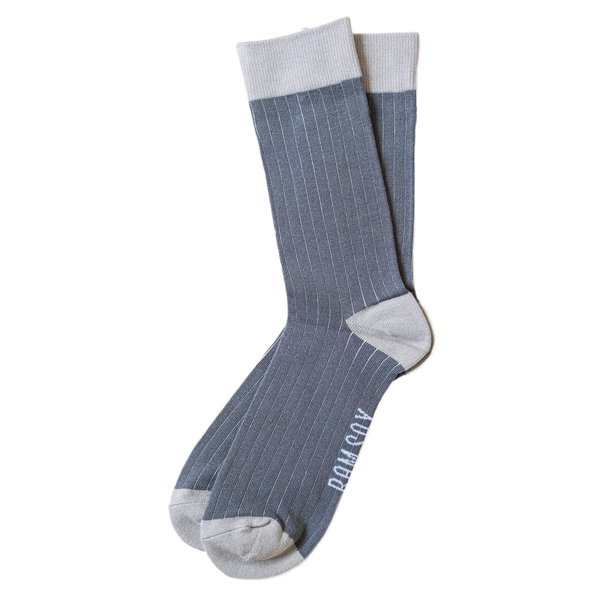 Load image into Gallery viewer, BAM SOX Pin stripe sock- Grey
