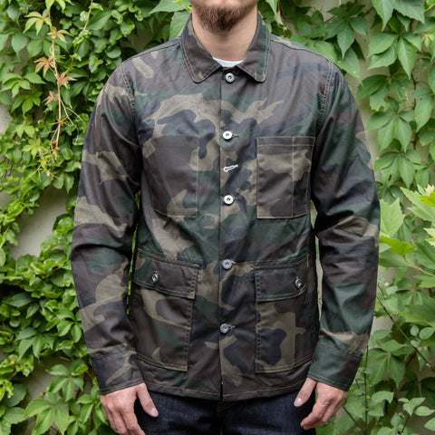 RGT-Field Jacket/ Waxed canvas/ Olive Camo