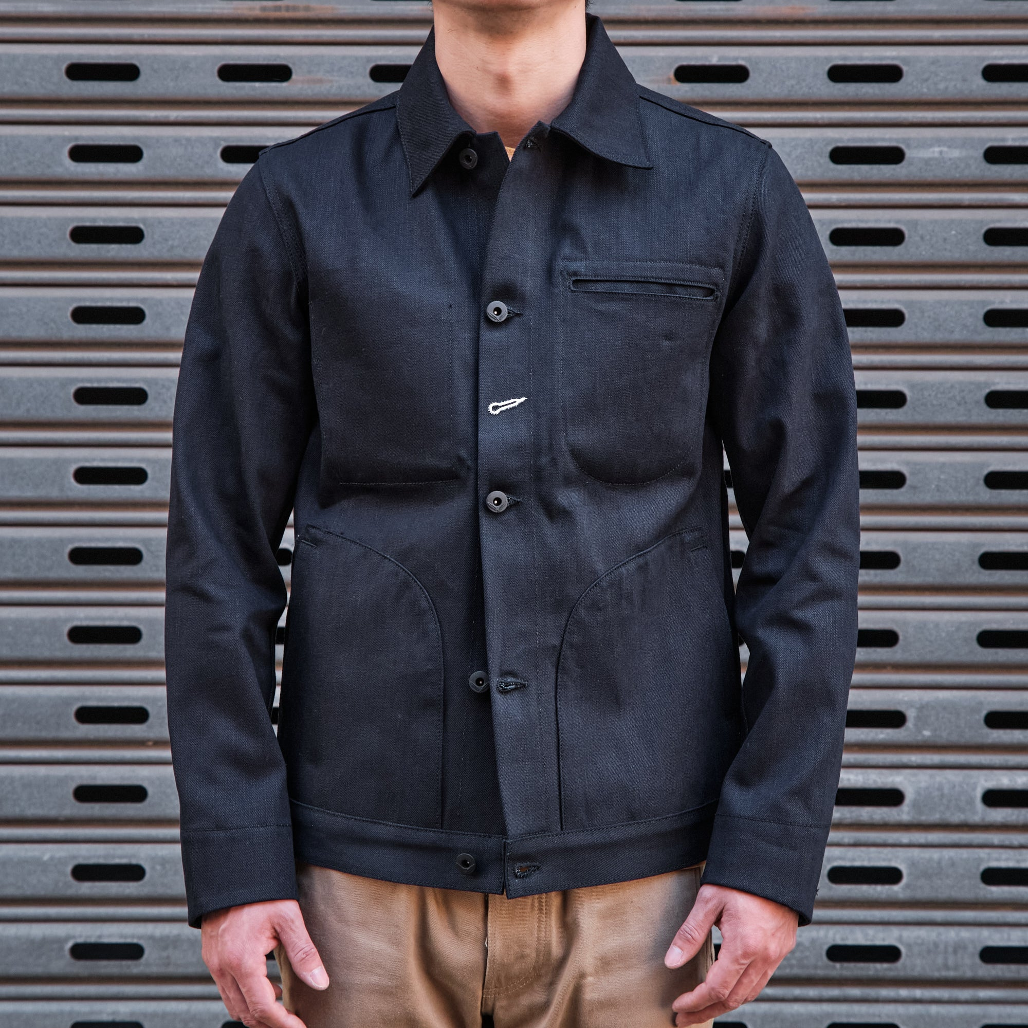Load image into Gallery viewer, Rogue Territory -13.5oz Supply Jacket in Dark Indigo