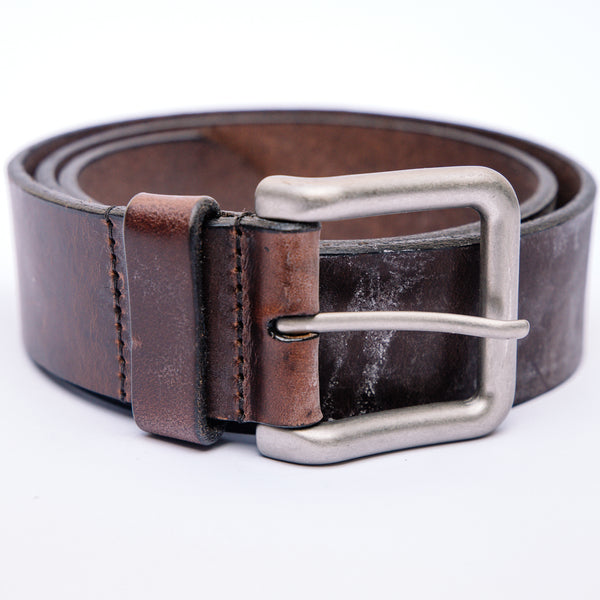 Helm Boots belt- Silver Buckle