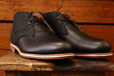 Helm Boots- Pete Derby Shoe