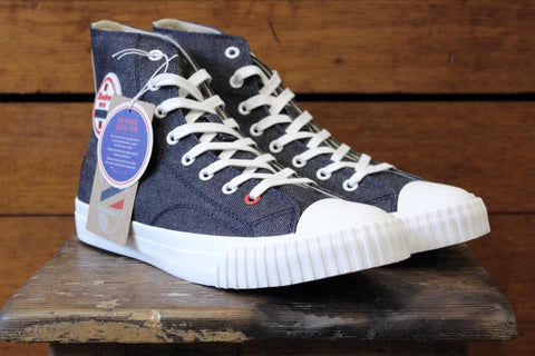 Bata Bullet X Uncle Rocco's Selvedge Denim Sneakers