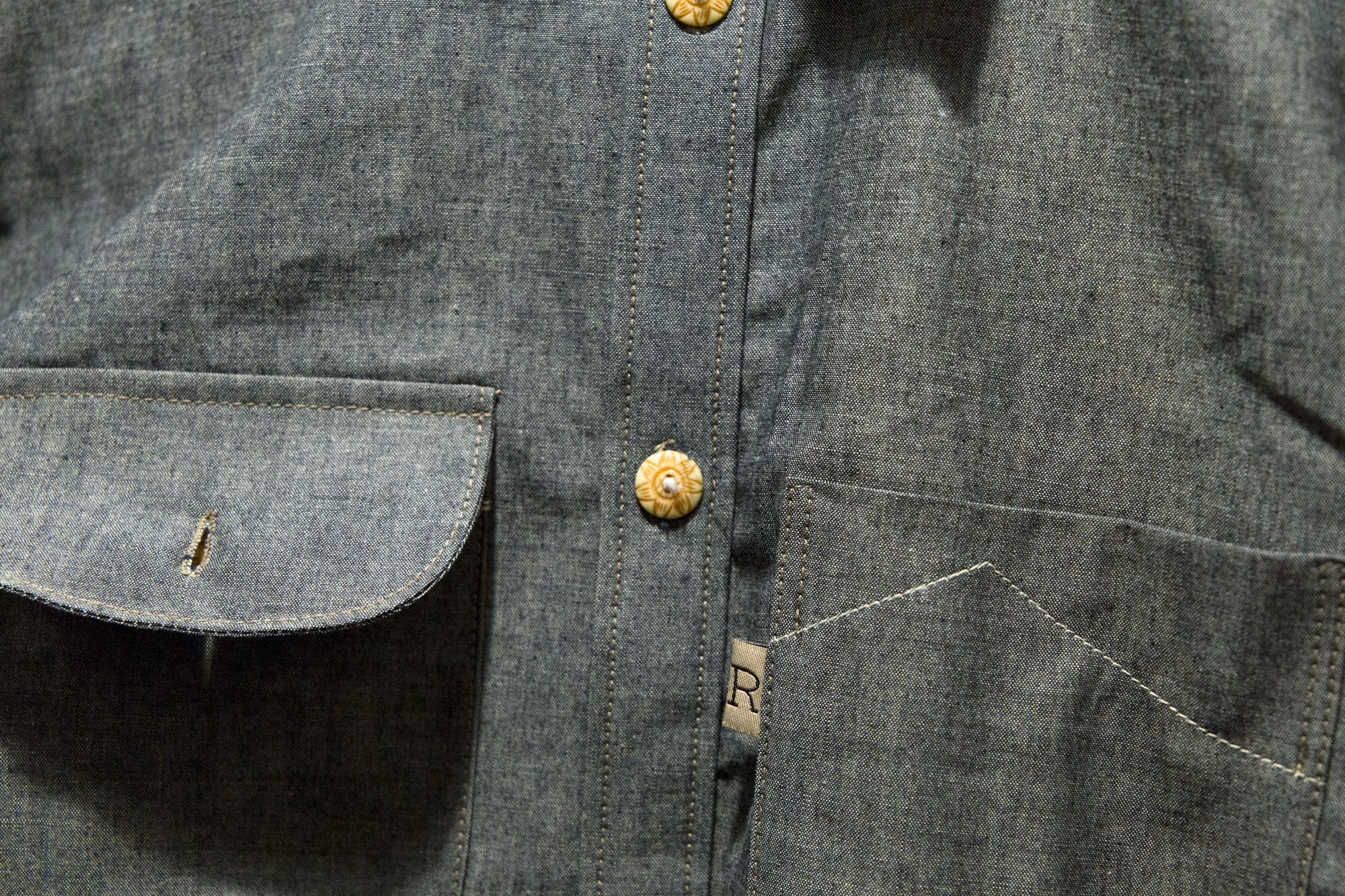 Load image into Gallery viewer, Railcar Fine Goods - Felon 001 denim shirt