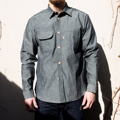 Railcar Fine Goods - Felon 001 denim shirt