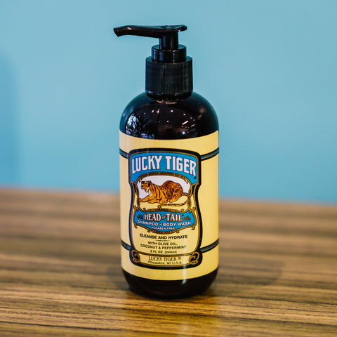 LUCKY TIGER - HEAD TO TOAL SHAMPOO AND BODY WASH