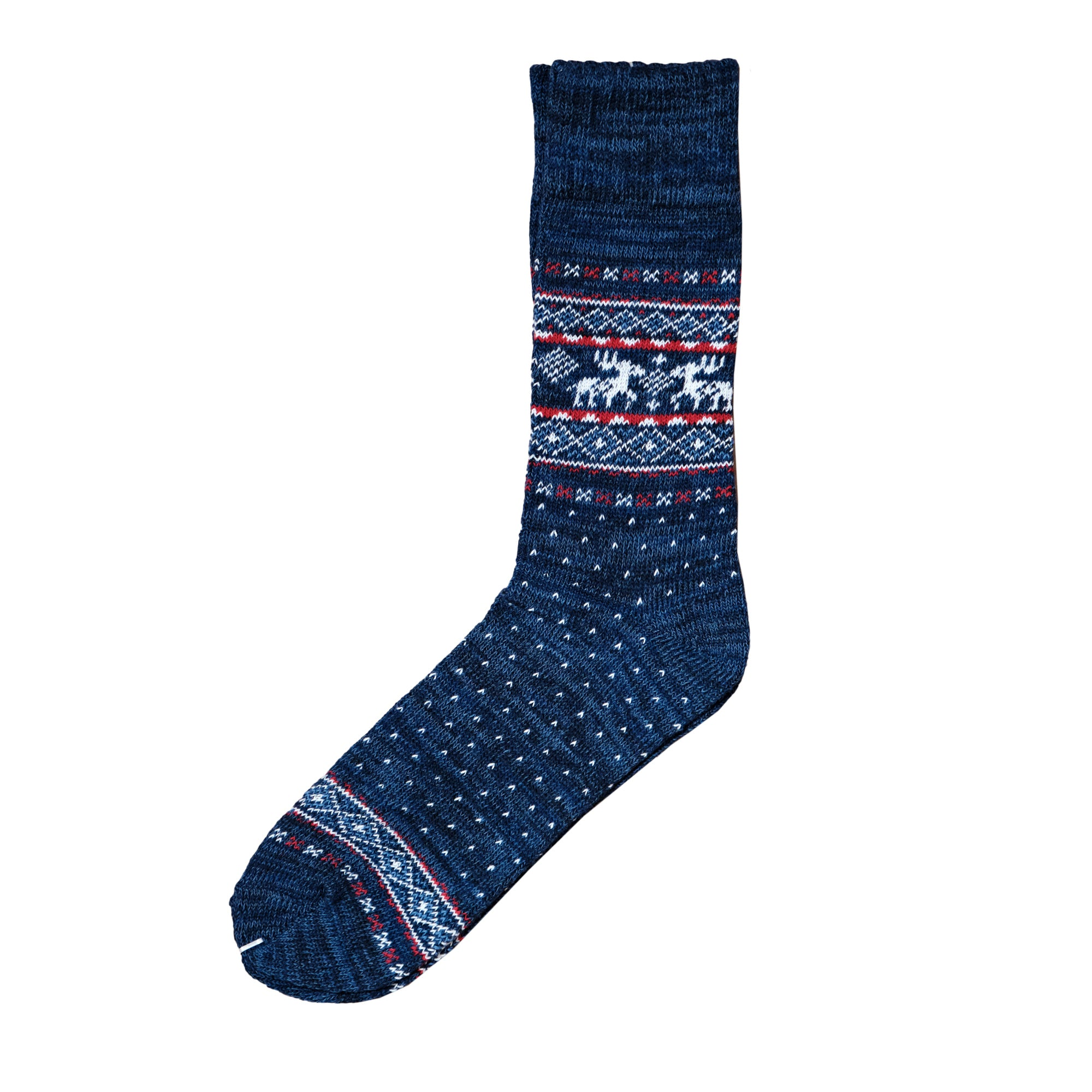 Load image into Gallery viewer, Oh dear Christmas socks- Navy