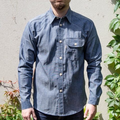 Railcar Fine Goods - Felon 002 chambray shirt