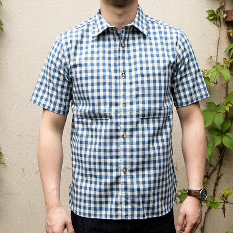 RGT-Camp Shirt// Light Indigo Gingham