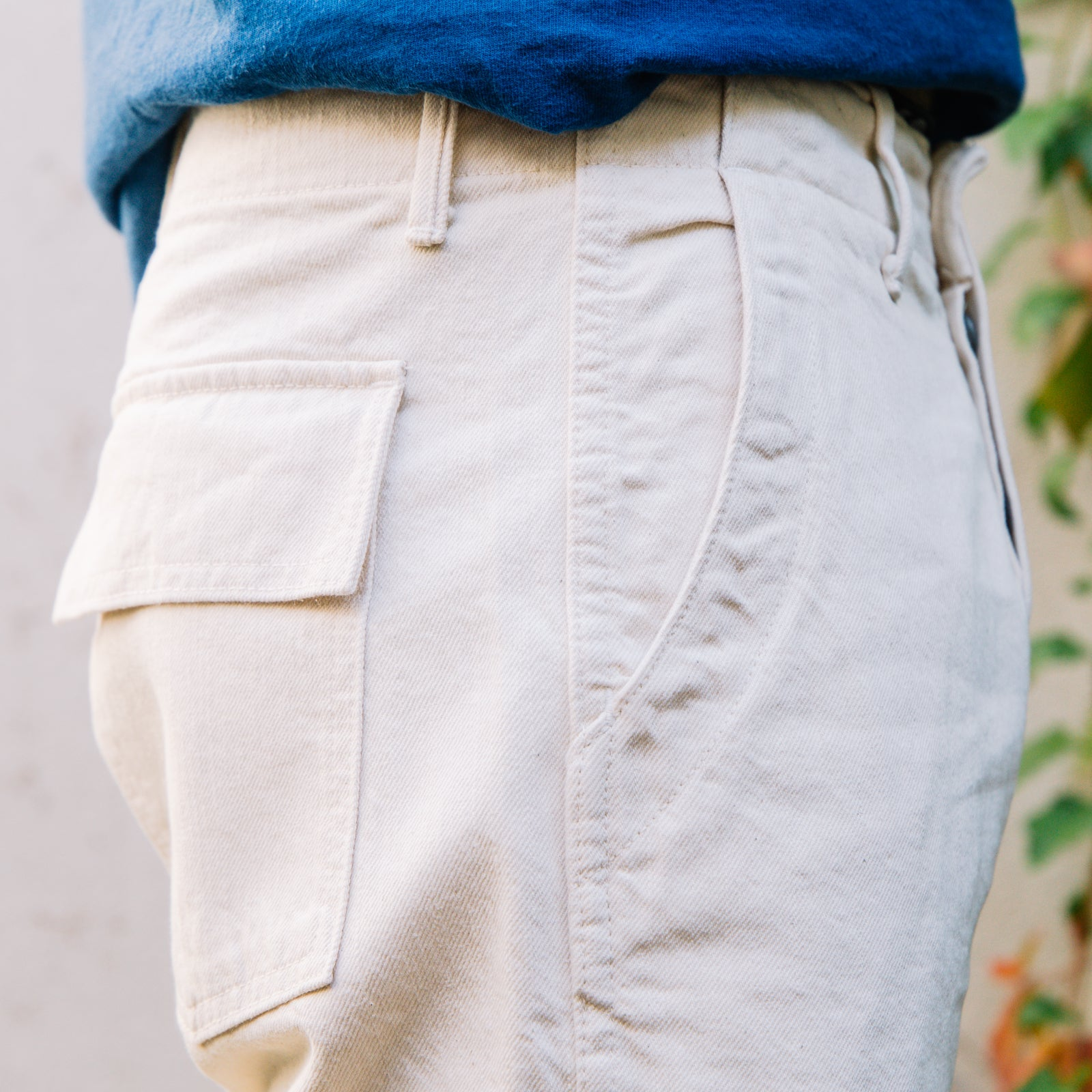 Load image into Gallery viewer, Rogue Territory - Field Pant in Ecru Denim
