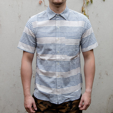 RGT-Jumper shirt Ocean Stripe Short Sleeves