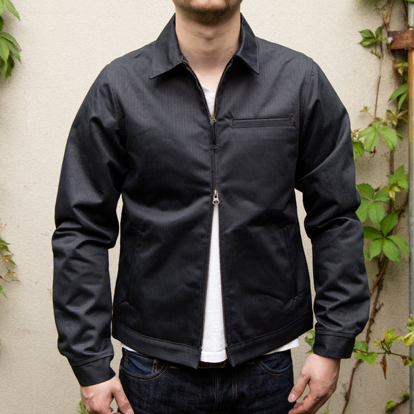 RGT-Ranger Jacket- Lined Graphite Herringbone