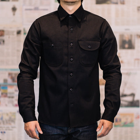 Rogue Territory -11oz Stealth Selvedge Denim work shirt