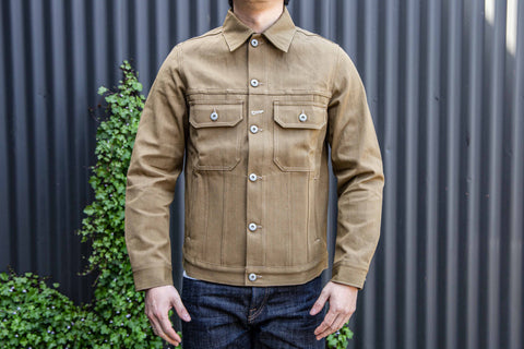 Rogue Territory - Cruiser Jacket in Tan denim