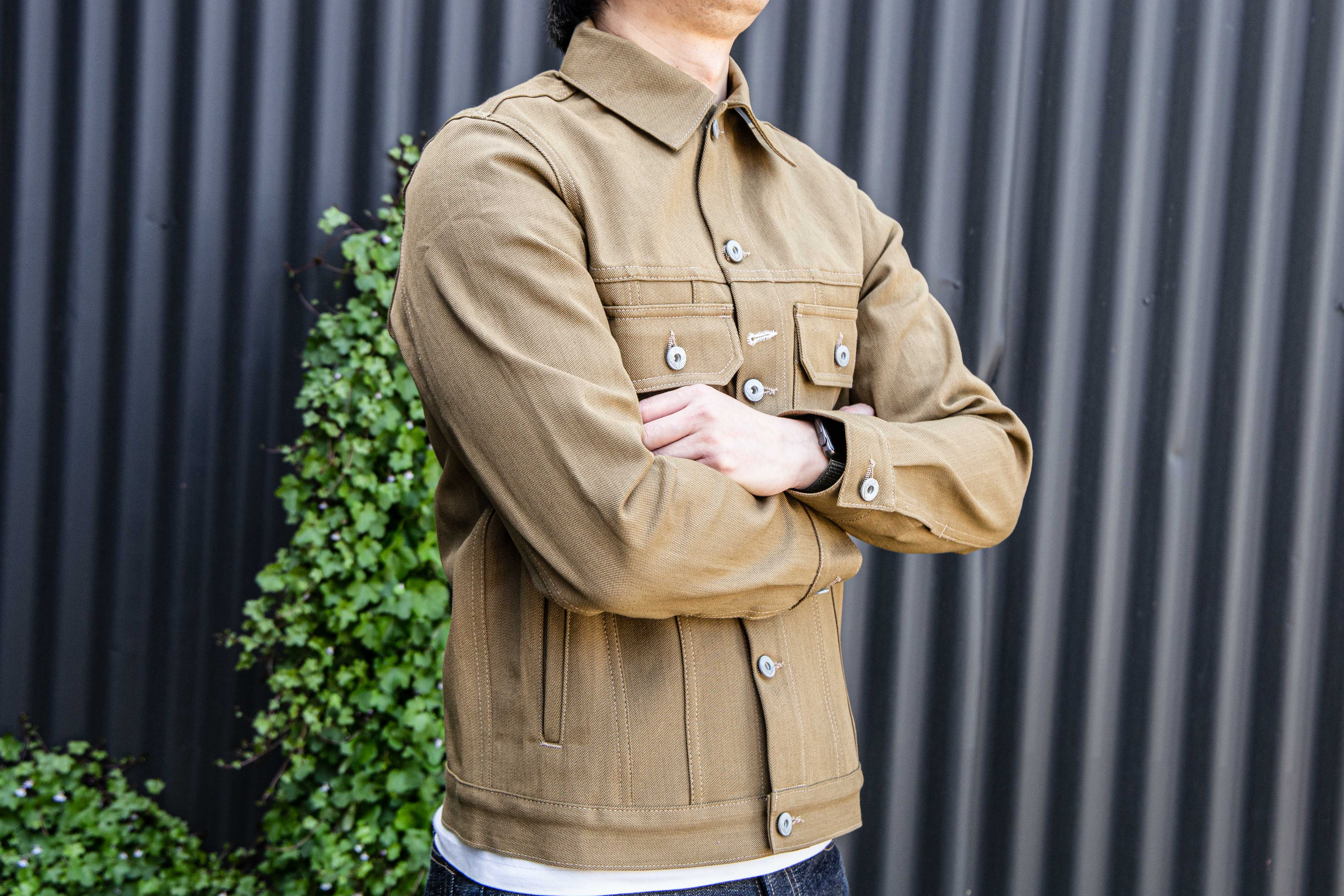 Load image into Gallery viewer, Rogue Territory - Cruiser Jacket in Tan denim