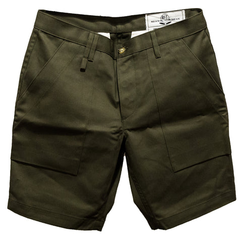 RGT- Safari Shorts// Olive