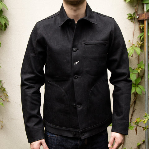 RGT-Supply Jacket-15oz Stealth Black