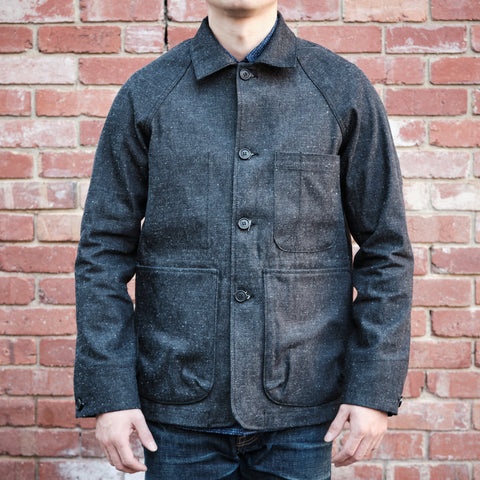 Rogue Territory - Explorer Blazer in Dark Neppy Denim