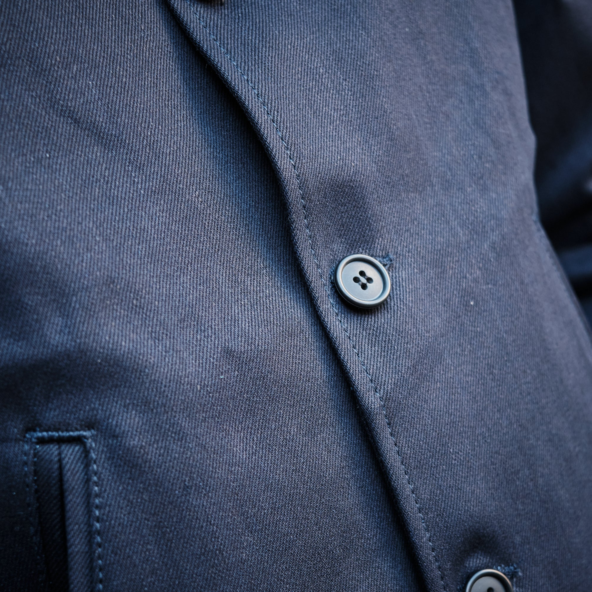 Load image into Gallery viewer, Rogue Territory - Peacoat in dark indigo