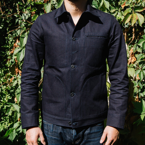 RGTx URBAN LUPE Supply Jacket-Indigo Selvedge Canvas