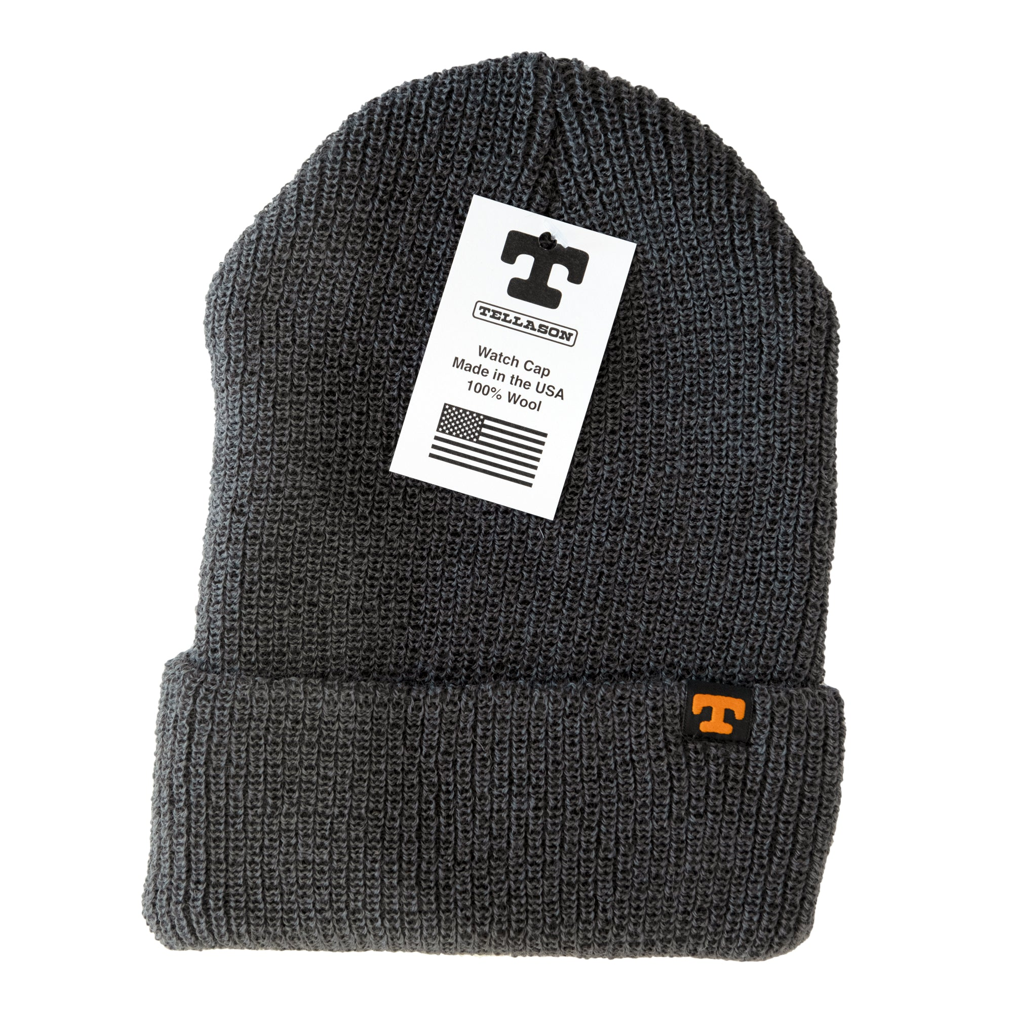 Load image into Gallery viewer, Tellason wool watch cap- Charcoal