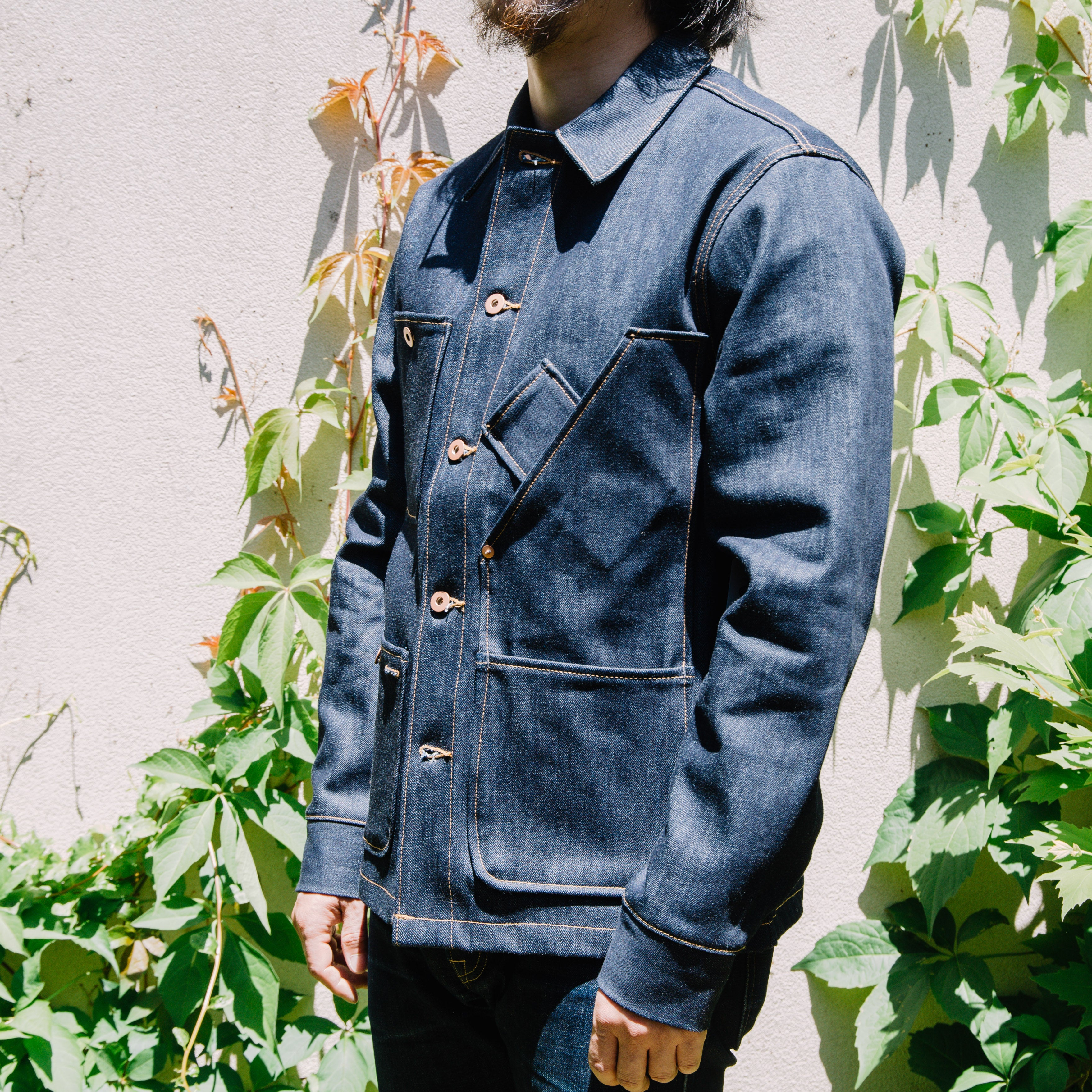 Load image into Gallery viewer, Tellason Stock Coverall Jackt in Indigo