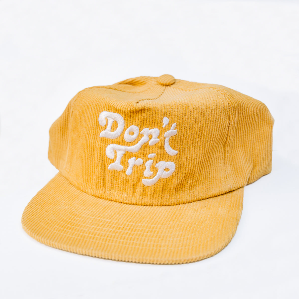 Load image into Gallery viewer, Free & Easy- Don't Trip Corduroy Hat in Mustard