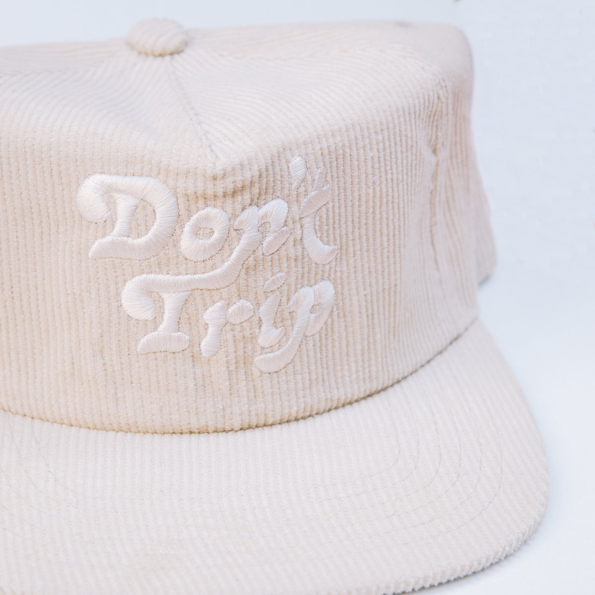 Load image into Gallery viewer, Free & Easy- Don't Trip Corduroy Hat in Cream