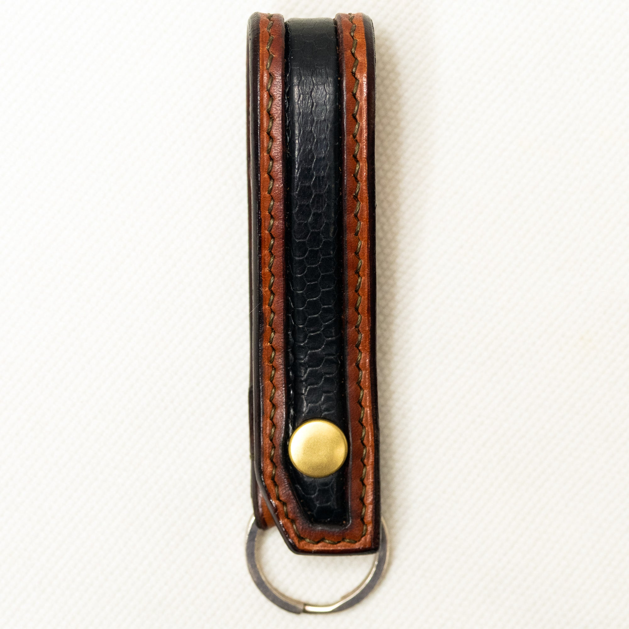 URBAN LUPE- Snakeskin belt loop key chain