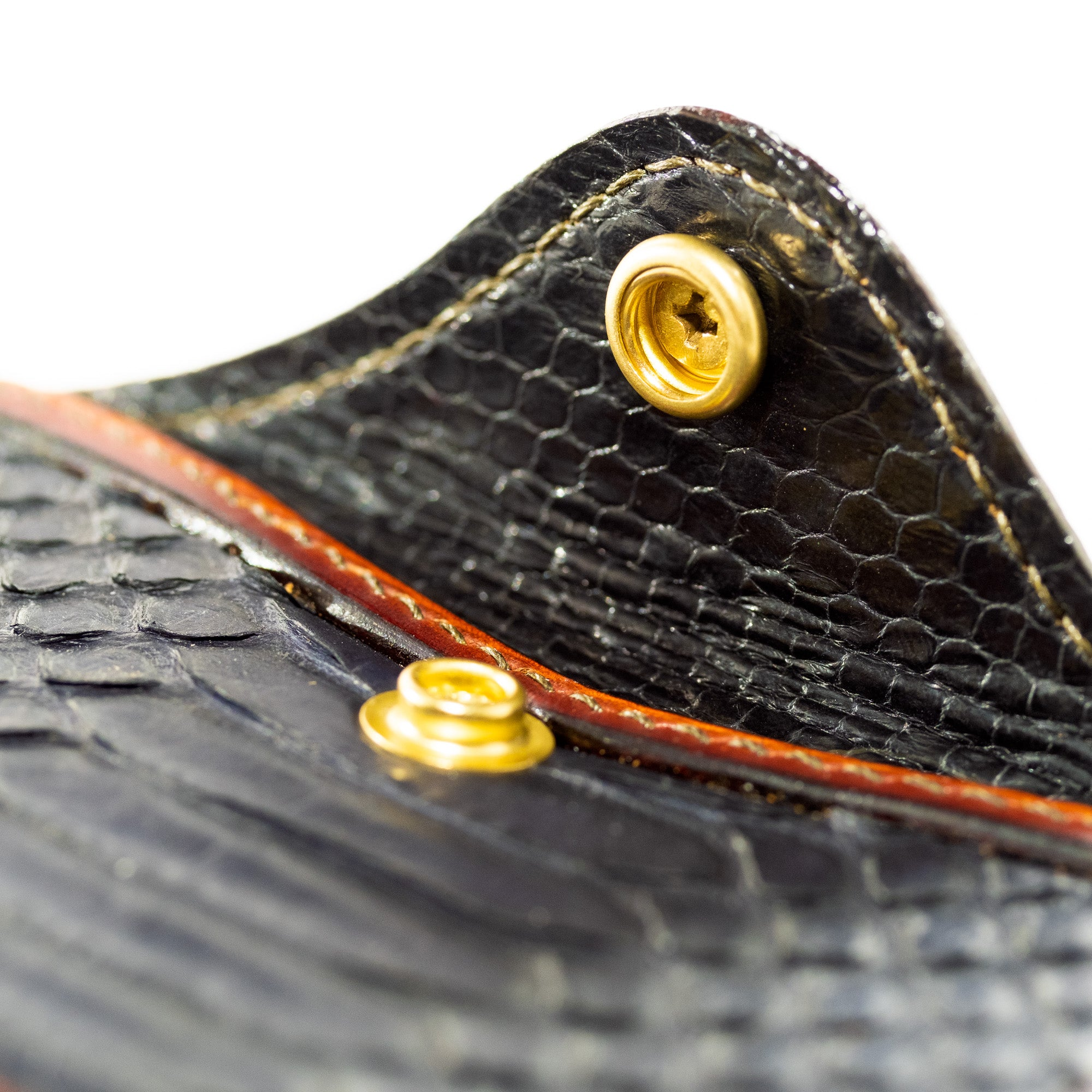 Load image into Gallery viewer, URBAN LUPE- Snakeskin card holder