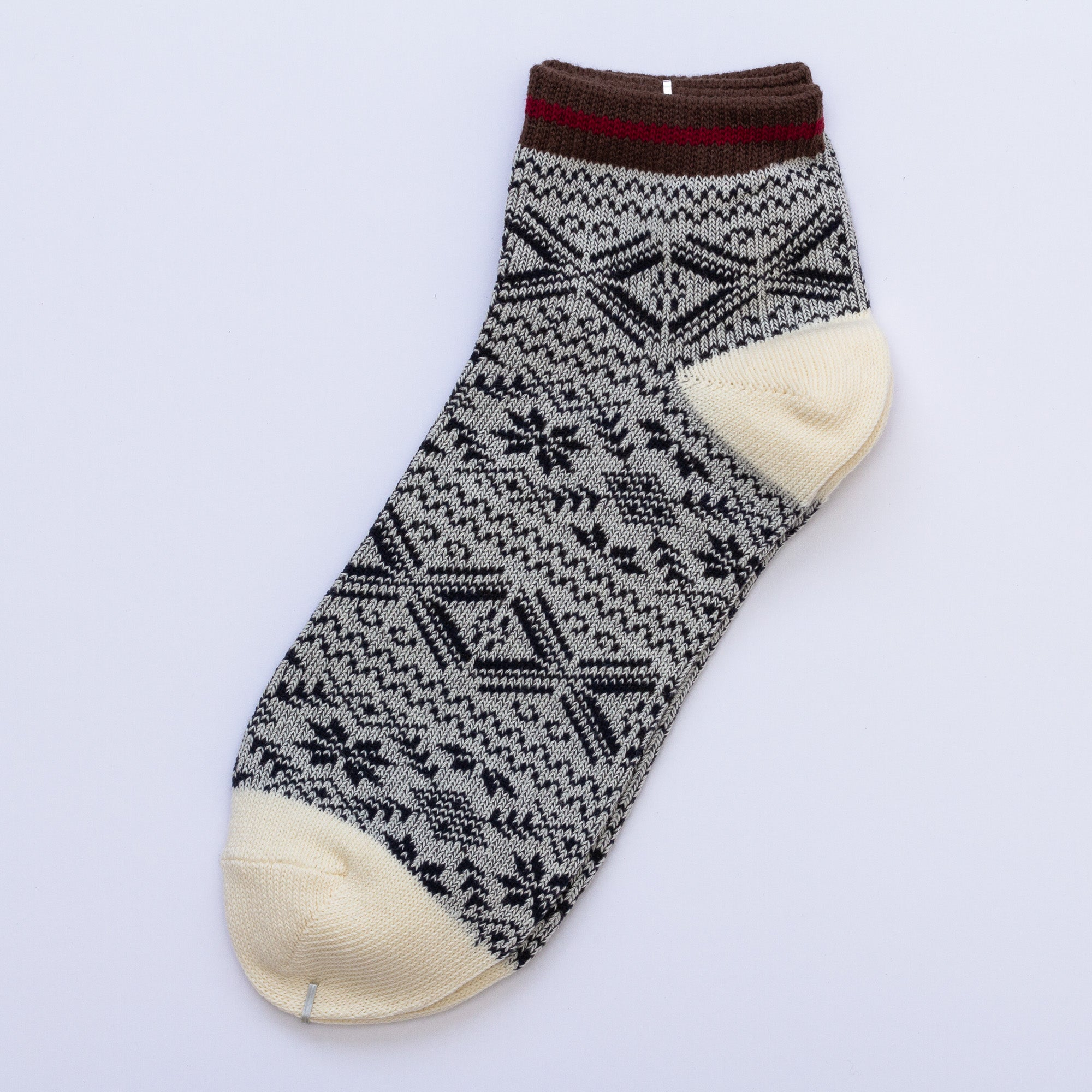 Load image into Gallery viewer, Kita Low Socks - White