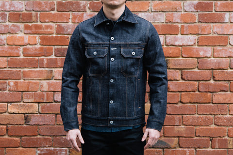 Rogue Territory - Cruiser Jacket in Cryptic slub denim