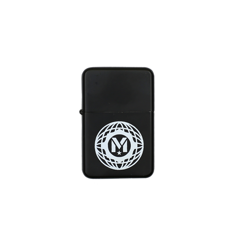 Black Globe Logo Lighter