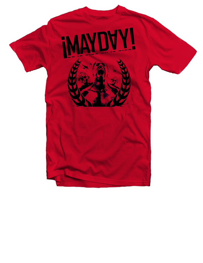 Red Mayday Screamer Tee