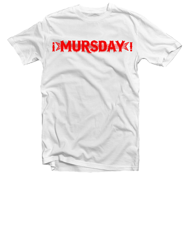 Mursday Red Logo Tee