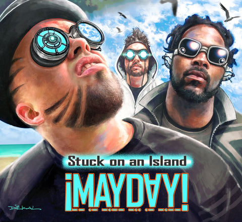 Stuck On An Island CD + MP3 Download