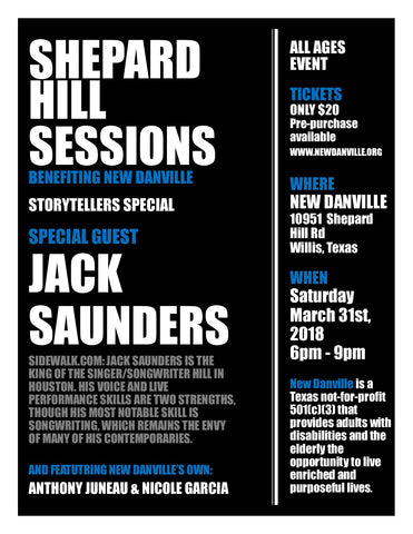 Shepard Hill Sessions #1 Event Ticket