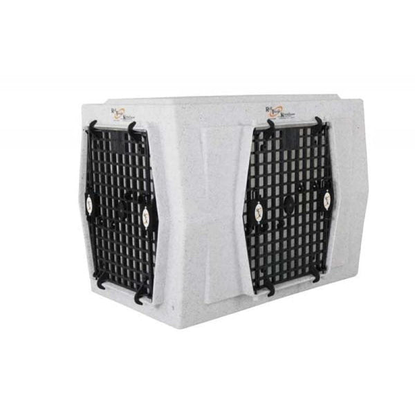 Ruff Tough Kennel Intermediate Double Door Side Entry