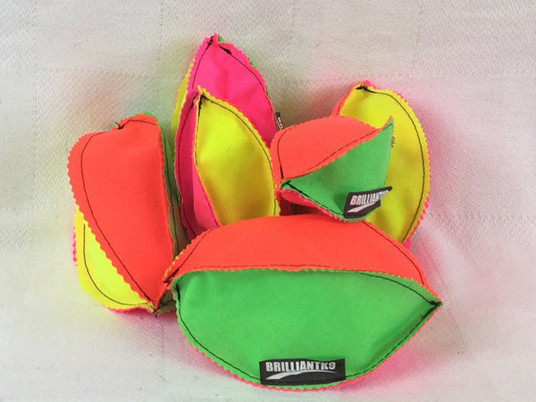 BrilliantK9 Neon Footballs - Stuffed
