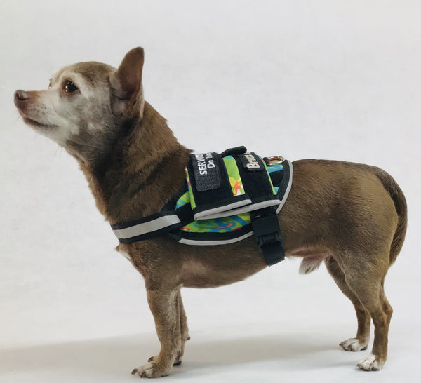 BrilliantK9 Little Service Dog Harness Teacup